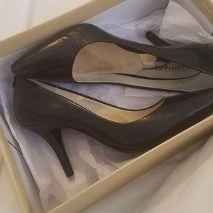 Michael Kors black heels brand new